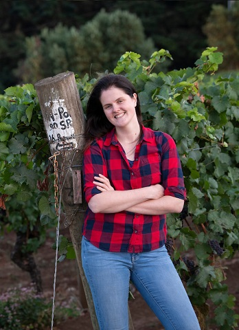Assistant Winemaker Gabi Prefontaine