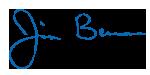 Jim Bernau Signature