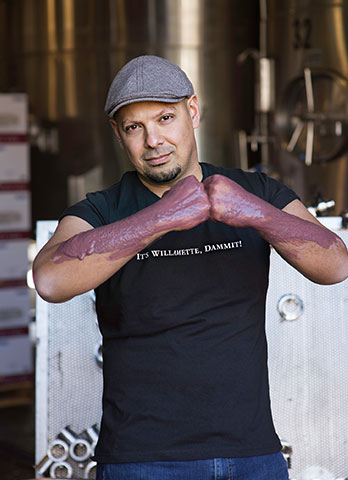 Winemaker Joe Ibrahim