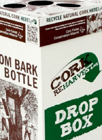 Cork Reharvest drop box