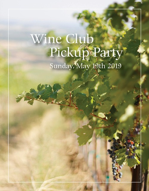 Maison Bleue and Pambrun Wine Club Pickup Party