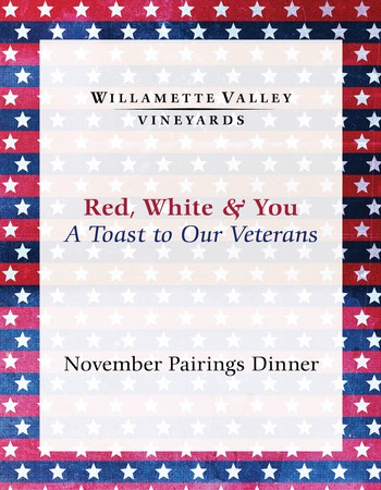 Red, White & You Pairings Wine Dinner