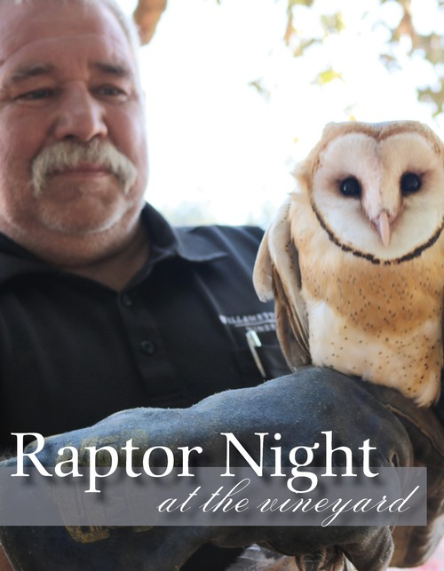 Raptor Night at the Vineyard